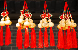 Arts & Crafts, Chinese knot, small gourd Royalty Free Stock Images