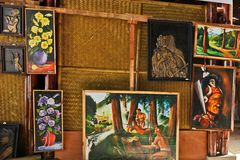 Arts and Crafts of Nagaland Stock Images