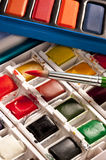 Arts & Crafts - Watercolor Painting Set Stock Photography