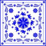 Arts d'amateur et folkloriques (gzhel) Photographie stock libre de droits
