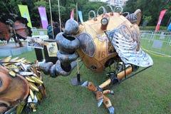 Arts dans l'événement de Mardi Gras de parc en Hong Kong Photographie stock libre de droits