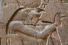 Arts de pharaons au temple de Luxpr Photo stock