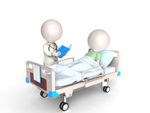 Arts en Patiënt Stock Fotografie