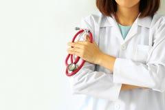 Arts en stethoscoop stock afbeeldingen