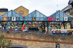 Arts et magasin Camden de métiers Images libres de droits