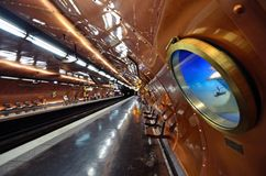 Arts et Metiers Metro station royalty free stock image