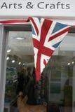 Arts et signe de métiers avec le drapeau Photos stock