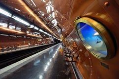 Arts et station de métro de métiers image libre de droits