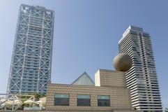 Arts et Torre Mapfre d'hôtel de gratte-ciel Photos stock
