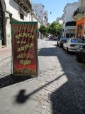 Arts Fair of San Pedro Telmo stock photography