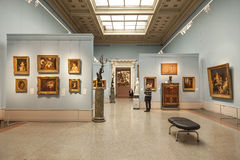 Arts of France 18-19 centuries in the Museum of Fine Arts named after Pushkin Royalty Free Stock Images