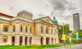 The Arts House at the Old Parliament, a historic building in Singapore Royalty Free Stock Photography