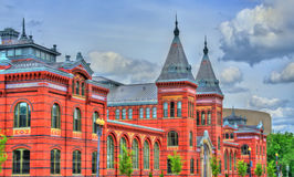 Arts and Industries Building of the Smithsonian museums in Washington, D.C. United States Royalty Free Stock Images
