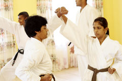 Arts martiaux photo libre de droits