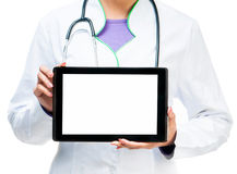 Arts met Digitale Tablet Royalty-vrije Stock Foto