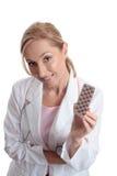 Arts met farmaceutische geneeskunde Royalty-vrije Stock Fotografie