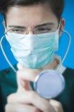 Arts met stethoscoop Stock Fotografie