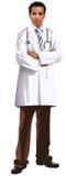 Arts met stethoscoop stock illustratie