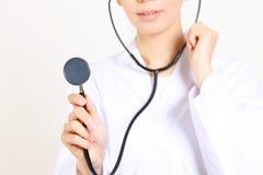 Arts met stethoscoop Stock Foto's
