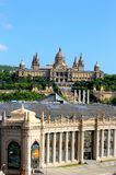 Arts Museum Palace in Barcelona, Spain Royalty Free Stock Photography