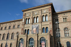 Arts museum in Stockholm Royalty Free Stock Photos