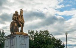Free Arts Of War Statue At The Arlington Memorial Bridge - Washington Stock Image - 94150151