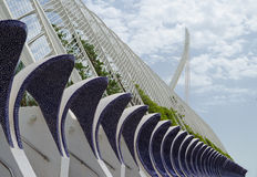 Arts and Science Center in Valencia, Spain. Outside the City of Arts and Science in Valencia, Spain Stock Image