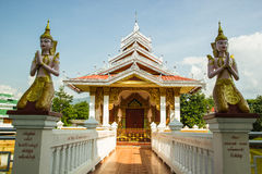 The Arts  of Shan Temple. In Chiangmai,Thailand Royalty Free Stock Photo