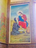 Arts of St. Mina Cathedral at Egypt. St. Mina Cathedral Egypt Stock Images