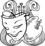 Arts symbols Royalty Free Stock Photo