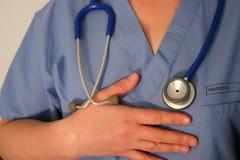 Arts of verpleegster Stock Afbeeldingen