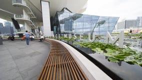 ArtScience博物馆在新加坡 库存图片