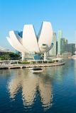 ArtScience博物馆在新加坡 免版税库存图片