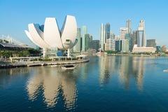 ArtScience博物馆在新加坡 免版税库存照片