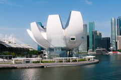 ArtScience博物馆,新加坡 免版税库存图片
