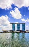 Artscience museum and Marina Bay Sands Hotel and Casino Singapor Stock Image