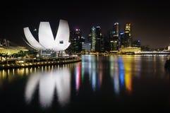 Artscience museum Singapore Arkivfoton