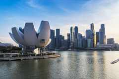 ArtScience Museum, Singapore Stock Image