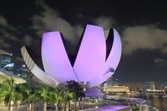 ArtScience Museum Singapore Royalty Free Stock Image