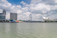 ArtScience muzeum, Singapur fotografia stock