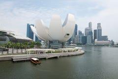 artScience muzeum w Singapur Obrazy Stock