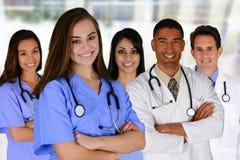 Artsen en Verpleegster royalty-vrije stock foto's