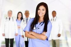Artsen en verpleegsters Royalty-vrije Stock Foto