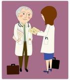 Artsen het Raadplegen Stock Fotografie