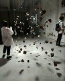 artsiest 人们 AkT美术画廊  直到陈列的午夜的最后的陈列艺术 库存图片