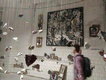 artsiest 人们 AkT美术画廊  直到陈列的午夜的最后的陈列艺术 图库摄影