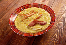 Artsoppa pea soup - Ärtsoppa Royalty Free Stock Photo