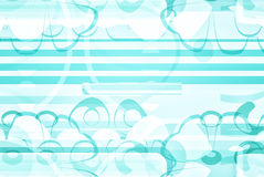 Artsy błękitny i biały projekta papier Obraz Royalty Free