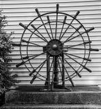 Double Ship`s Wheels stock photo