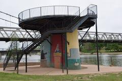 Artsy gazebo. Waco artsy gazebo Stock Image